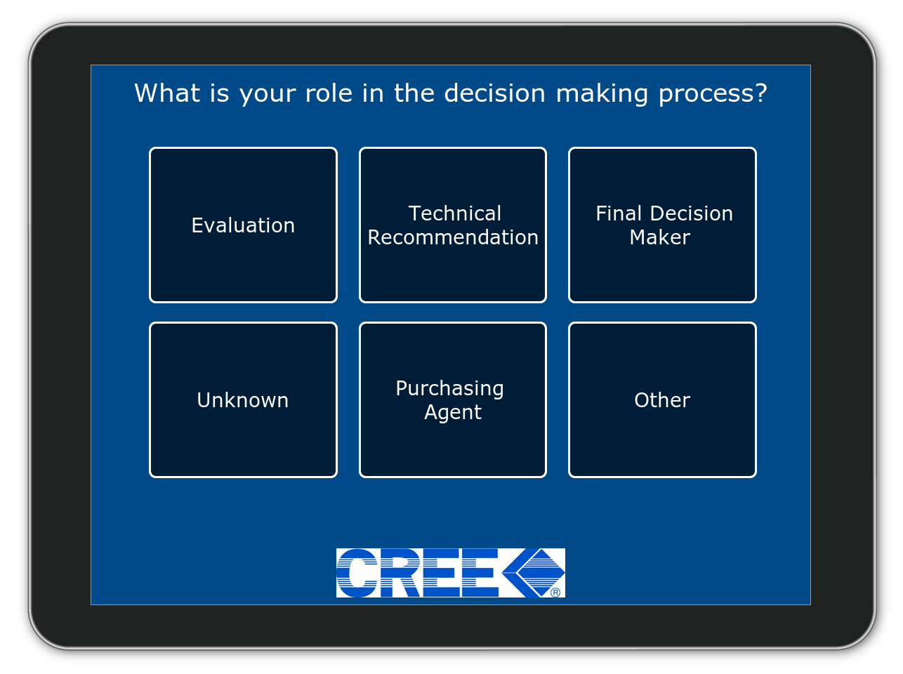 Are you a decision maker?