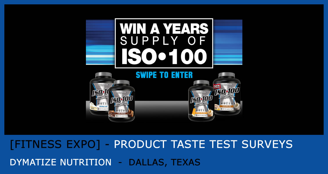 [Success Profile] Protein Shake Taste Test Survey