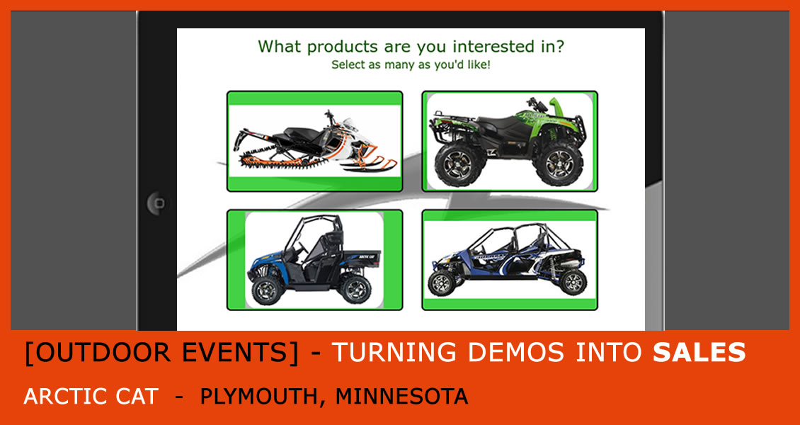 Arctic Cat - Turning Demos Into Sales