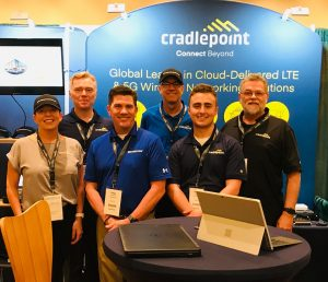 Cradlepoint Trade Show Success